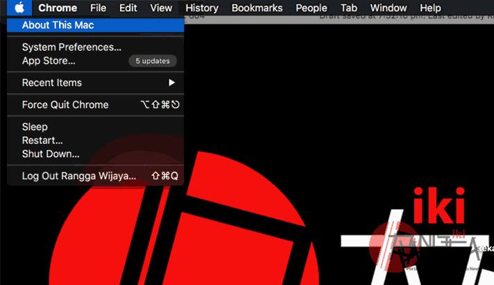 Dengan melihat dari About This Mac setelah melakukan cara mudah mengaktifkan trim di ssd yang kita pakai