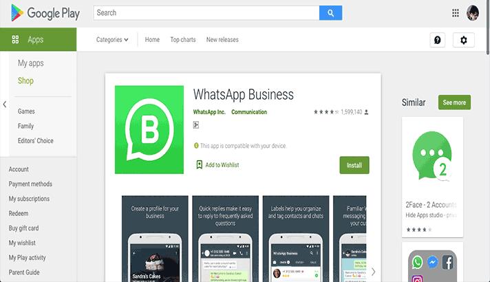 aplikasi whatsapp business di android